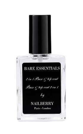 Bare Essentials 2-in-1 Base & Top Coat Nail Polish