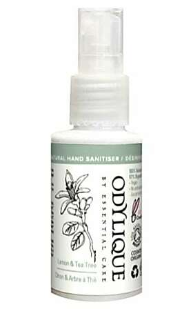 Natural Hand Sanitiser - Lemon & Tea Tree