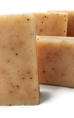 Orange & Olive Scrubsoap