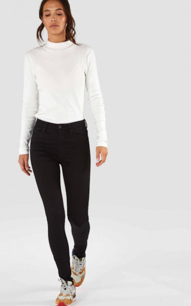 Christina High - High Rise Super Skinny - Stay Black