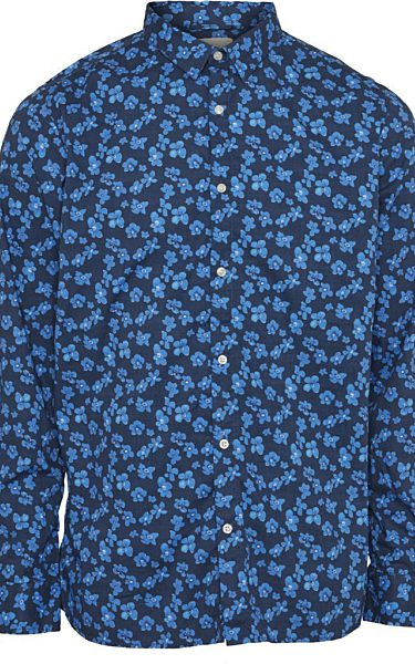 Small Flower Poplin Shirt