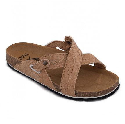 Paxos Cork Flat Sandal